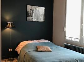 Aux Portes de Paris, hotel near Bobigny-Pablo Picasso Metro Station, Drancy