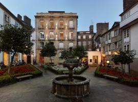 Hotel Montes, отель в городе Сантьяго-де-Компостела