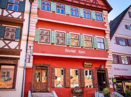 hezelhof hotel & Luis, hotel in Dinkelsbühl