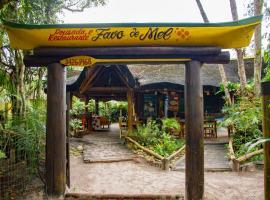 Pousada Favo De Mel, family hotel in Ilha do Mel