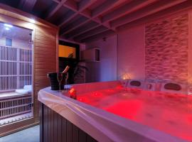 Romance Spa lofts haut de gamme avec sauna, hotel in Le Havre