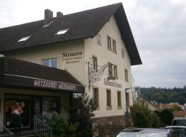 Hotel Strauss, hostel in Waldbronn