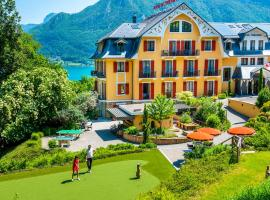 Les Trésoms Lake and Spa Resort, hotel in Annecy