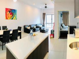 【乐居Ø LEJÜ】 6 Pax Cosy Suites @ IMAGO Mall 亚庇市中心首选!, spa hotel in Kota Kinabalu