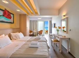 Palm Beach Hotel Apartments, serviced apartment in Rethymno Town
