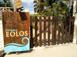 Pousada Eolos, hotel with pools in Barra Grande