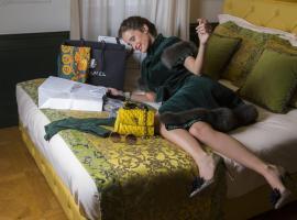 Ambra Cortina Luxury&Fashion Hotel, hotel a Cortina d'Ampezzo