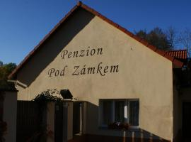 Penzion Pod Zámkem, hotel in Průhonice