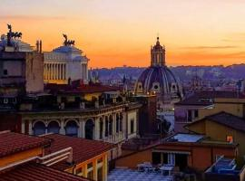Hotel Hiberia, hotel v Římě