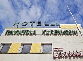 hotelli ravintola kurenkoski, hotelli Pudasjärvellä