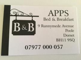 Apps B&B, B&B in Poole