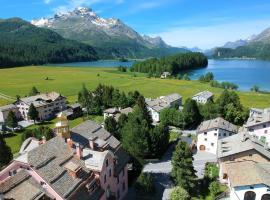 Parkhotel Margna Superior, hotel in zona St. Moritz - Corviglia, Sils Maria