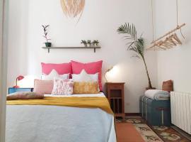 Suite con salón privado en la Rambla, apartament o casa a Girona