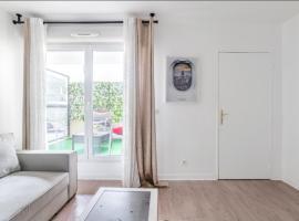 Appartement spacieux avec terrasse près de Paris et du Stade de France, hôtel à Saint-Denis