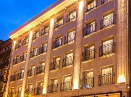 Mukarnas Taksim Hotel (ex Mukarnas Pera), отель в Стамбуле, рядом находится Улица Истикляль