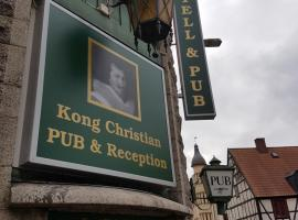 Hotell Kong Christian, hotell i Kristianstad