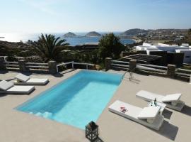 Thalasses Villas, hotel in Kalafatis