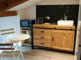 Attic one bedroom flat in Old Town Lyon, budget hotel in Lyon