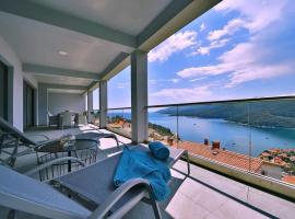 Apartment Vanilla I with beautiful Seaview, budget hotel in Rabac