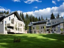 Harrachov Resident Apartments with Terrace, apartmán v destinaci Harrachov