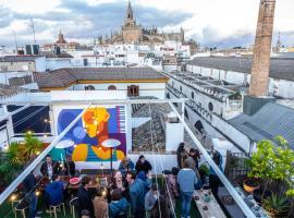 La Banda Rooftop Hostel, hostel in Seville