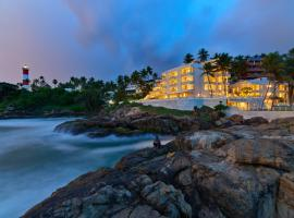 Rockholm at the Light House Beach, luxury hotel in Kovalam
