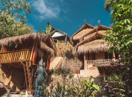 BALI BAMBOO JUNGLE HUTS AND HOSTEL, lodge in Tampaksiring