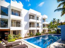 Miranda Beach Resort, hotel with pools in Baga