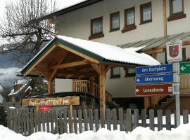 Angi's Apartment, hotel a Kreischberg környékén Sankt Lorenzen ob Murauban