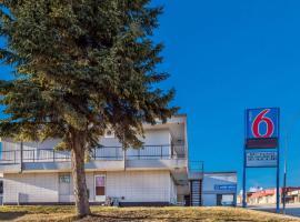 Motel 6-Fort St. John, BC, отель в городе Форт-Сент-Джон