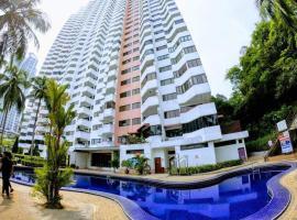 Ali BaBa Batu Ferringhi Beach @ Sri Sayang, apartment in Batu Ferringhi