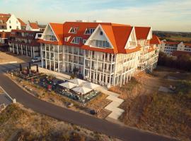 Penthouse in Badhuis Cadzand, hotel near The Zwin, Cadzand