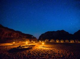 Bedouin Tours Camp, luxury tent in Wadi Rum