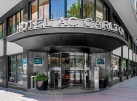 AC Hotel Carlton Madrid, hotel near Atocha Train Station, Madrid