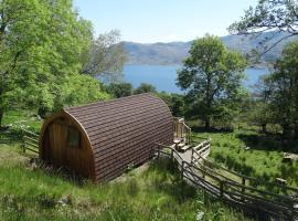 The Wee Lodge, luxury tent in Mallaig