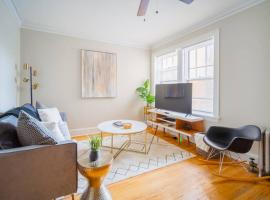 Beautiful, Comfy, 1 BR, Lincoln Sq. Near Wrigley, vacation rental in Chicago