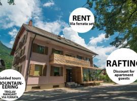 Apartments and Rooms Skok, hotel v mestu Bovec