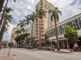 OYO Amazonas Palace Hotel - 9 minutos do Parque Municipal Américo Renné Giannetti, hotel near Central Station, Belo Horizonte