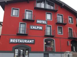 Hotel L'alpin, hotel in Landry