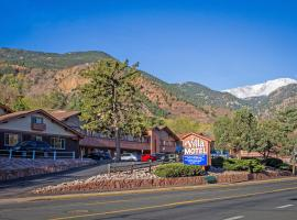 Villa Motel at Manitou Springs, hotel near Rock Ledge Ranch Historic Site, Manitou Springs