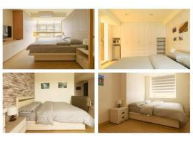 Three Master Bedrooms 4B4b Home 三主臥4房4衛, íbúð í Taipei