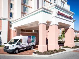Hampton Inn & Suites Orlando Airport at Gateway Village, pet-friendly hotel in Orlando
