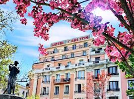 Best Western Plus Hotel Carlton Annecy, hôtel à Annecy près de: École de ski d'Annecy Semnoz