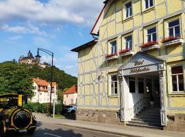 Boutiquehotel Schloßpalais, ξενοδοχείο σε Wernigerode