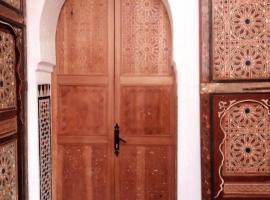 Riad Ma Bohème, riad in Meknès