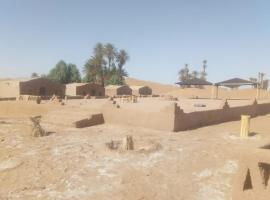 Camp lux M'hamid, luxury tent in Zagora