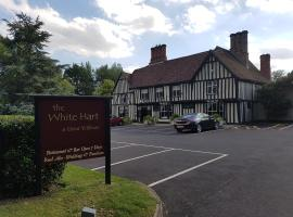 The White Hart, hotel near Colchester Zoo, Great Yeldham