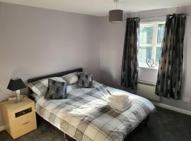 The Bell Apartment. Modern, stylistic & luxurious, apartment in Falkirk