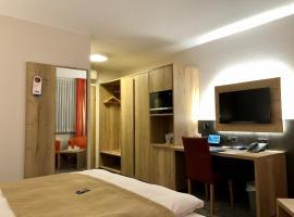 Hotel Merkur, отель в городе Ландштуль