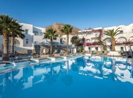 Santorini Kastelli Resort, budget hotel in Kamari